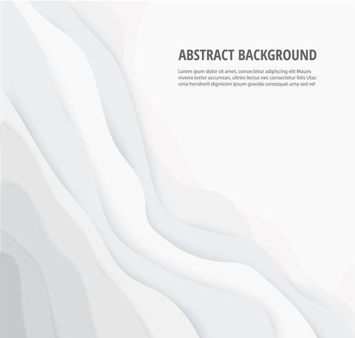 abstracte witte grijze lijnen geometrische achtergrond en ruimte voor schrijven