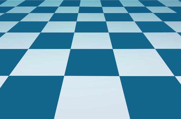 una cuadrícula de perspectiva fondo de tablero de ajedrez