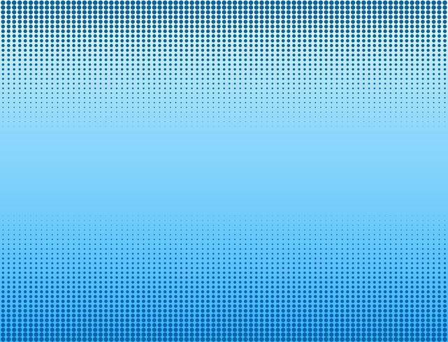 Vektor illustration av blå halvton banners bakgrund