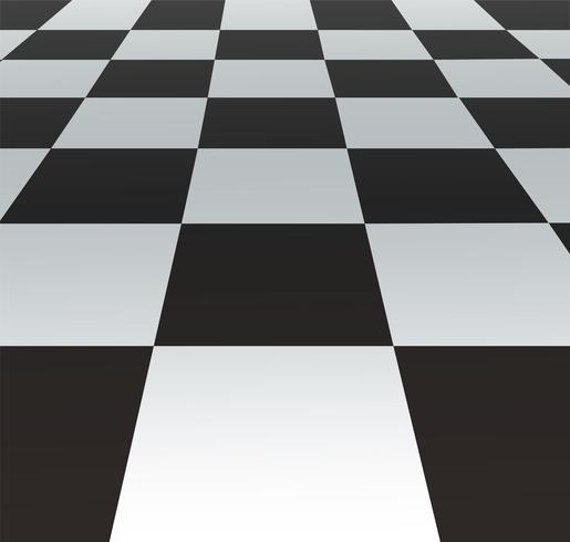 uma grade de perspectiva. fundo de tabuleiro de xadrez