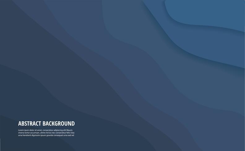 abstracte blauwe golfachtergrond en ruimte voor schrijven
