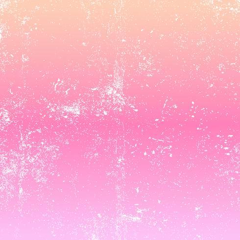 Grunge superposición sobre fondo degradado pastel vector