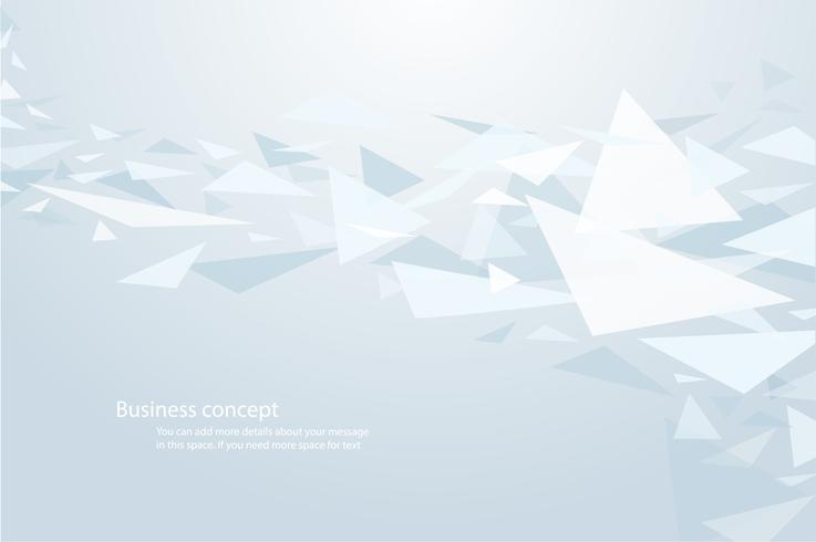 fundo de forma de triângulo leve e ilustração vetorial de papel de parede