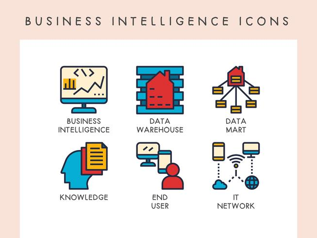 Business Intelligence ikoner