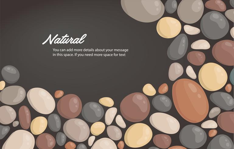 style moderne bouchent rond fond de pierre et espace pour écrire illustration vectorielle de fond d'écran vecteur