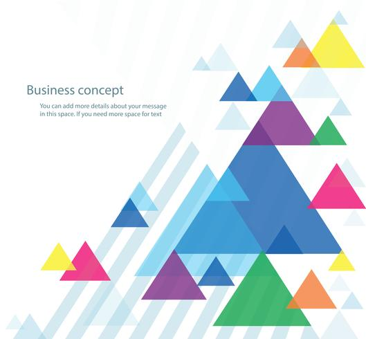 abstract colorful triangle background wallpaper vector illustration