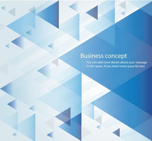 abstract blue triangle background wallpaper vector illustration