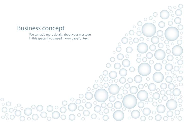 droplet of rainwater , water drops on white background vector illustration