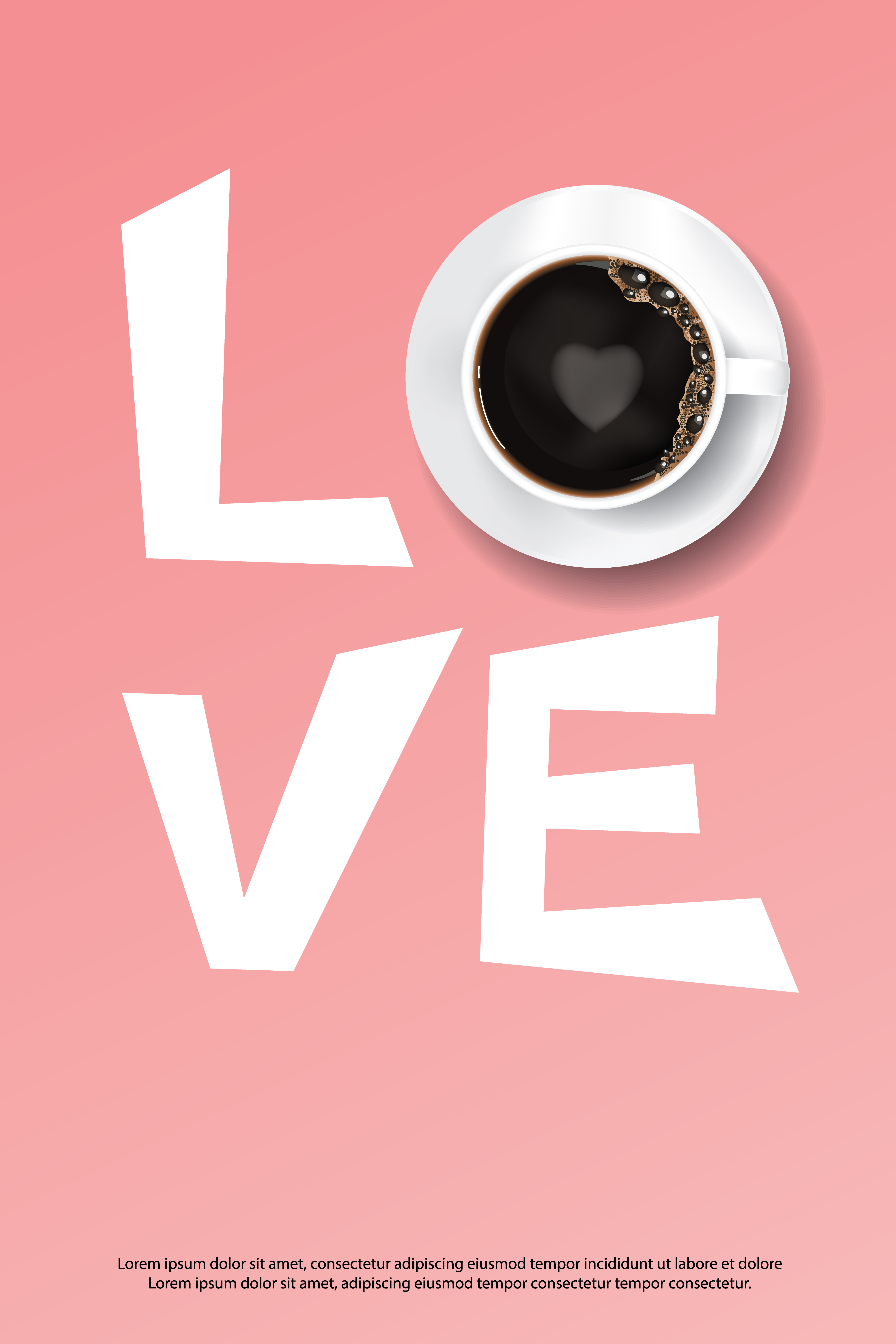 coffee poster advertisement flayers vector illustration