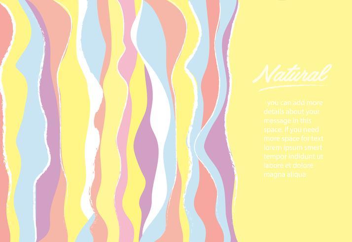 schattige zachte regenboog lijn achtergrond vectorillustratie