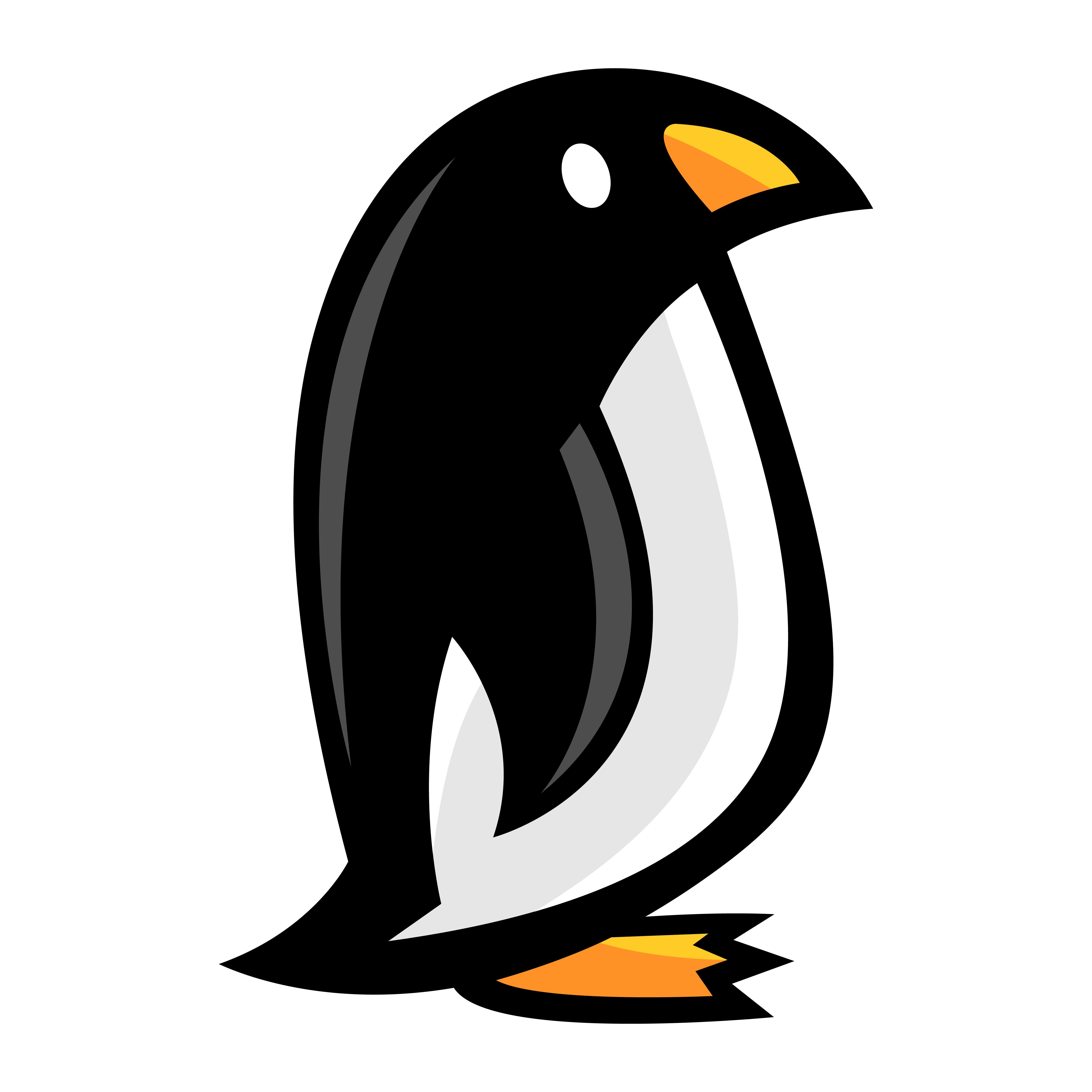 Penguin cartoon illustration - Download Free Vectors ...
