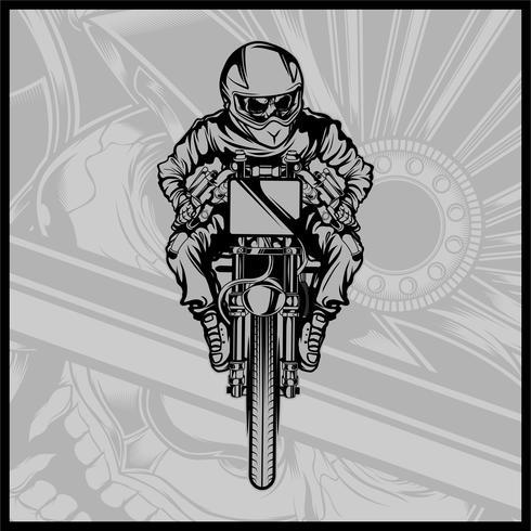 crâne moto courses