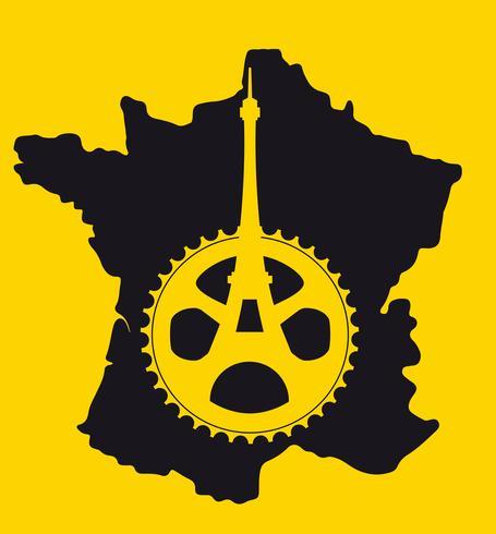 AFFICHE MINIMALE TOUR DE FRANCE