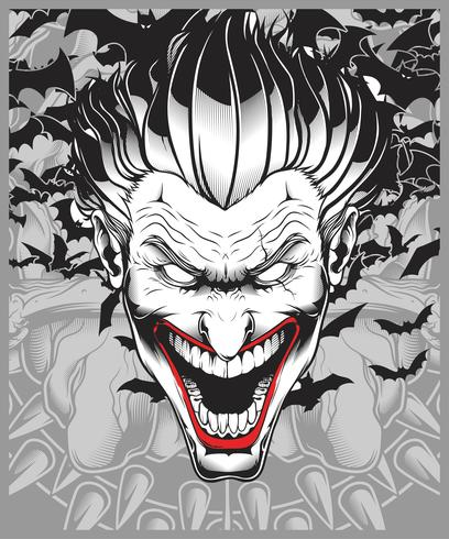 Lucifer Evil Demon Joker Hand Drawing Vector Download Free Vectors Clipart Graphics Vector Art