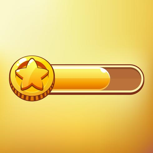 Cartoon Coin Different symbols asset GUI elements for casual mobile games