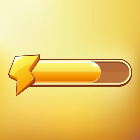 Energia dos desenhos animados Diferentes símbolos ativos GUI elementos para jogos móveis casuais