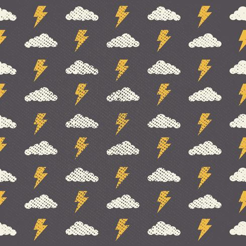 Vector Seamless Grunge Cloud Pattern,Abstract Background-02