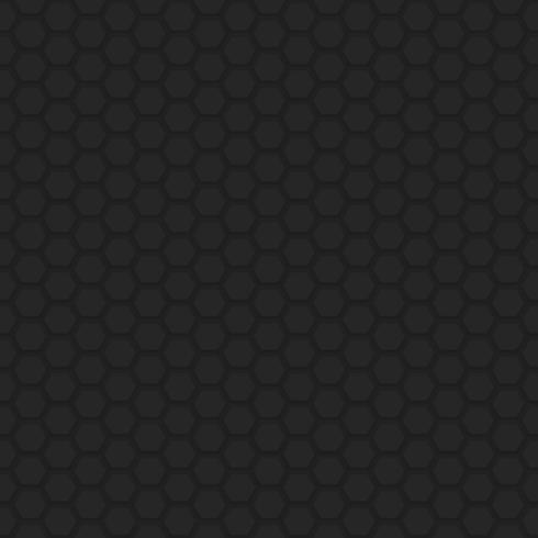 Preto e cinza geométrico abstrato circular sem costura de fundo