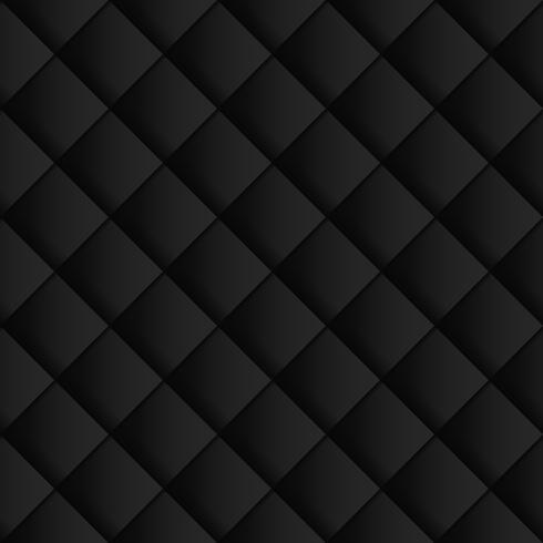 Fondo inconsútil abstracto circular geométrico negro y gris del modelo