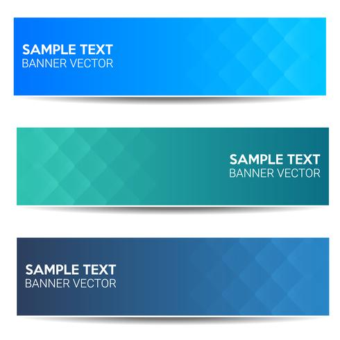 Abstract beautiful banner color gradient background vector