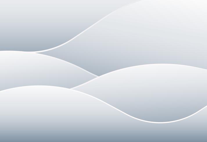 Abstracte mooie witte gradiëntachtergrond