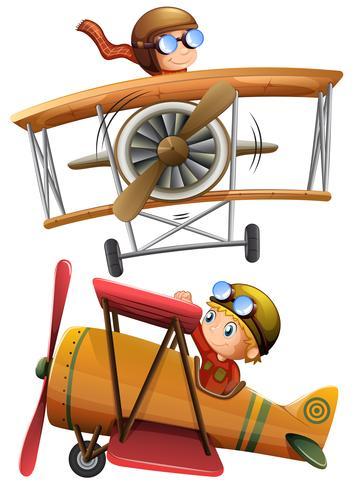 Conjunto de avión clásico