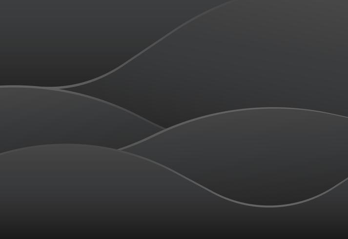 Fundo gradiente de cor preta linda abstrata