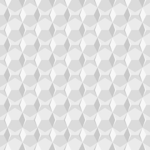 Fondo geométrico abstracto circular blanco patrón inconsútil imprimir