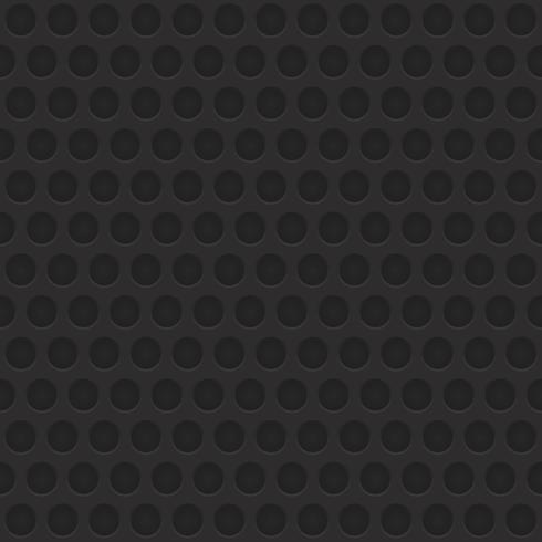 Black & Grey geometric circular abstract seamless pattern background