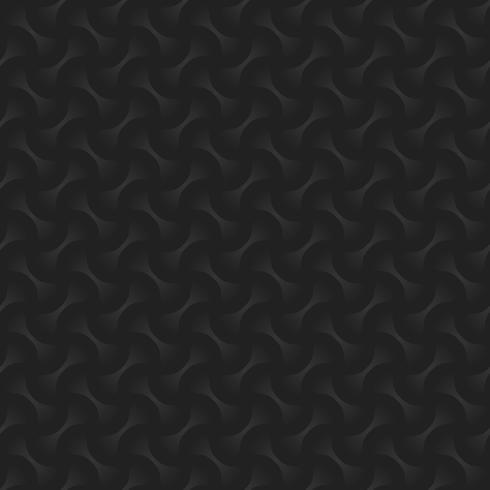 Zwarte & grijze geometrische cirkel abstracte naadloze patroonachtergrond