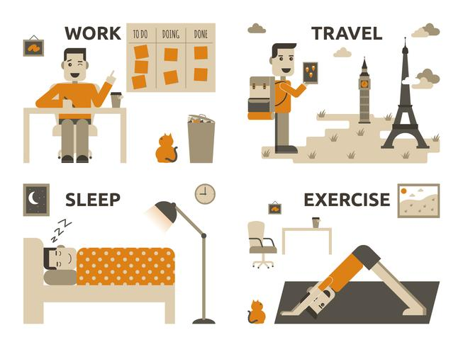 L'équilibre travail-vie