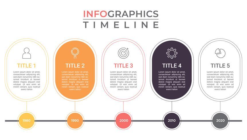 Business infographics. tävlingsschema. affärsdata visualisering mall för presentation.