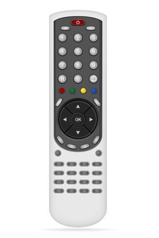 afstandsbediening voor audio-video-apparatuur vectorillustratie
