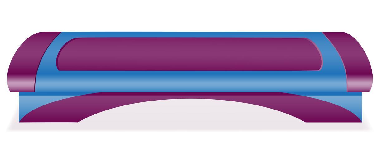 illustration vectorielle de fitness step board