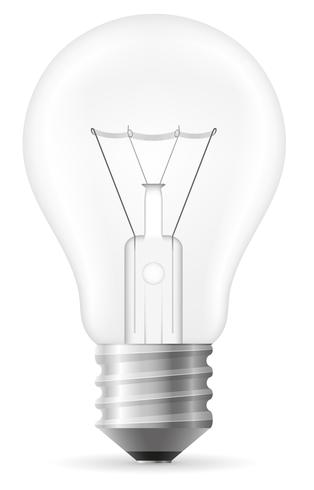 glödlampa vektor illustration