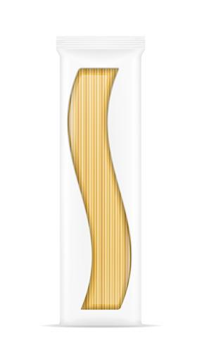 Pasta in Verpackung Vektor-Illustration