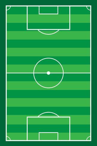 Fußball Fußball Stadion Feld Vektor