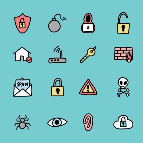 Cyber Security Clip Art