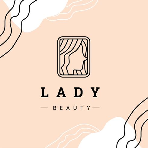Donna Logotype per salone di bellezza