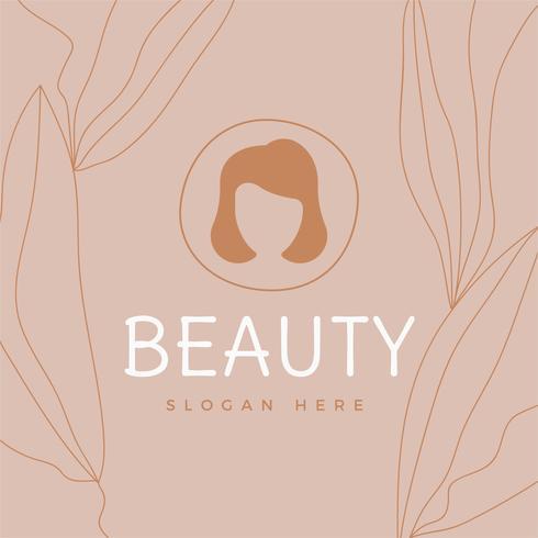 Salon de Belleza Logo Vector
