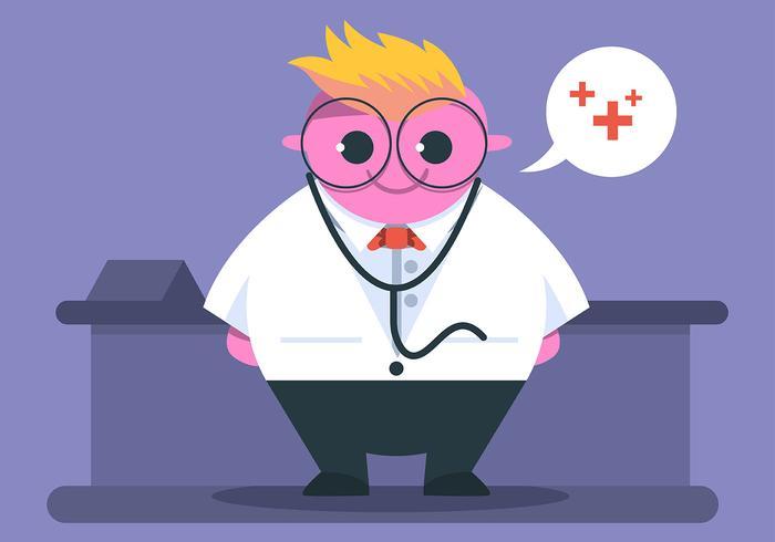 Doutor como personagem de cuidados de saúde