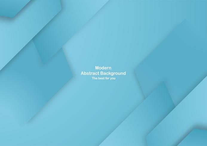 Abstrato azul com cor pastel. Modelo para apresentação de negócios, capa, convite, cartaz, propaganda, banner. Tendência nova do projeto da ilustração do vetor no corte do papel 3D.