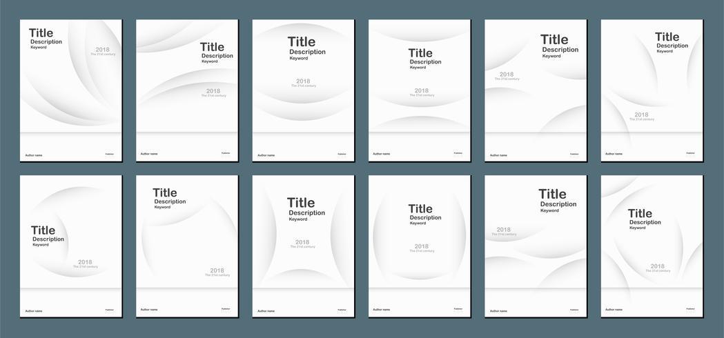 Fundo abstrato moderno branco com espaço do texto para a bandeira da Web, o projeto da tampa, o folheto, o livro, o molde e a apresentação. Ilustração do vetor. vetor