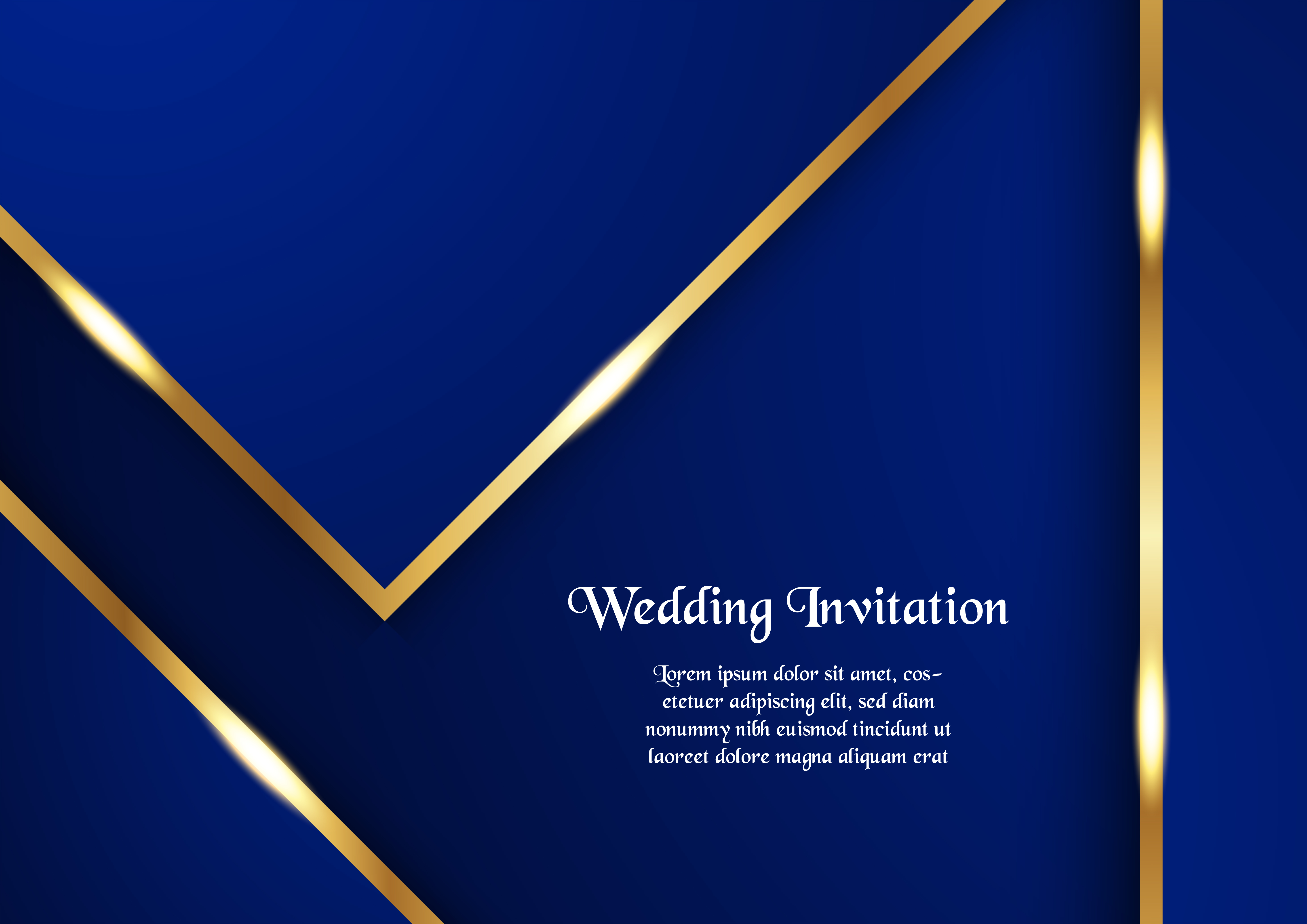 Gold Luxury Invitation Free Vector Art 3 304 Free Downloads