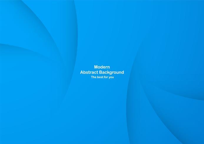 Abstracte blauwe krommeachtergrond met exemplaarruimte voor witte teksten. Modern sjabloonontwerp voor dekking, brochure, webbanner en tijdschrift.