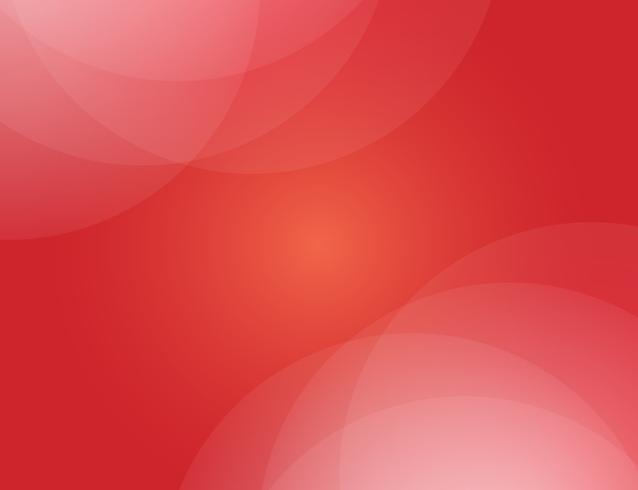 Vector de fondo abstracto rojo. Fondo de diseño moderno para la plantilla de presentación de informe y proyecto. Ilustración vectorial gráfico. Forma futurista y circular.