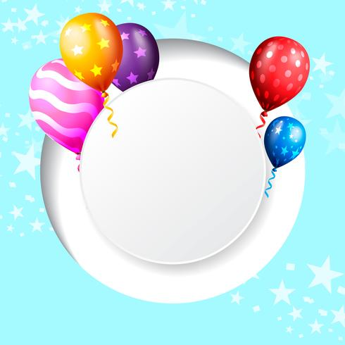 birthday celebration background, birthday balloon wallpaper