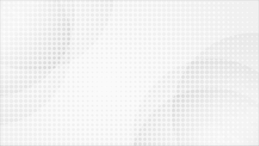 Vettore astratto bianco del fondo del mosaico. Astratto grigio Sfondo di design moderno per report e modello di presentazione del progetto. Illustrazione vettoriale. Forma di punto prodotto pubblicitario presente
