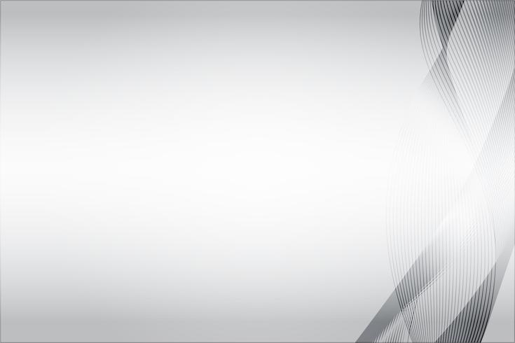 Witte abstracte achtergrond vector. Grijze samenvatting. Moderne ontwerpachtergrond voor rapport en projectpresentatiesjabloon. Vector grafische illustratie. Spectrum vorm