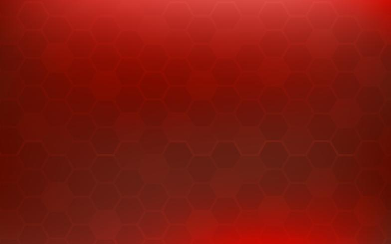 Red honeycomb abstract background. Wallpaper and texture concept. Minimal theme.